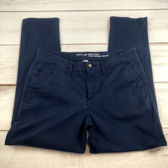 GAP Pants - GAP Skinny Boyfriend Blue Khakis Size 4 (Item #143